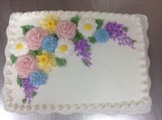 spring buttercream flowers