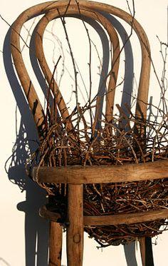 Australia's Harriet Goodall. She describes herself as a sculptural basket maker. LOVE this!