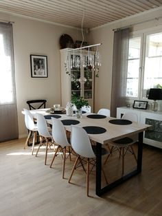 Conference Room, Dining Table, Diy Projects, Furniture, Home Decor, Decoration Home, Room Decor, Dinner Table, Home Furnishings