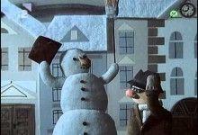 2. Snehuliacke rozprávky: Snežný muž Snowman, Outdoor Decor, Home Decor, Snowmen, Home Interior Design, Decoration Home, Home Decoration