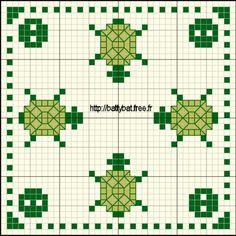 Pattern to make a biscornu