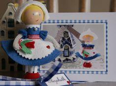 Dutch Girl Peg Doll