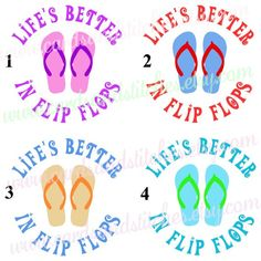 Flip Flop Family Stickers Vinyl Sticker Car Decal Custom Family - How to make car decals with cricut explore