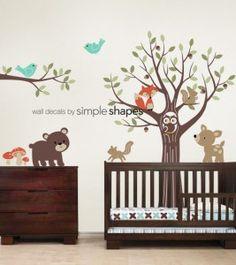 Nursery ideas: Super-cute woodland animals