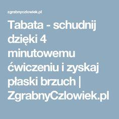 Tabata - schudnij dzięki 4 minutowemu ćwiczeniu i zyskaj płaski brzuch | ZgrabnyCzlowiek.pl