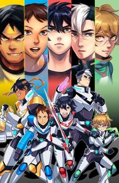 Voltron and Percy Jackson cross over? I don't own any of the characters of Voltron or Percy Jackson and the Olympians. Voltron Klance, Voltron Force, Voltron Comics, Voltron Fanart, Form Voltron, Voltron Ships, Voltron Paladins, Voltron Poster, Hunk Voltron