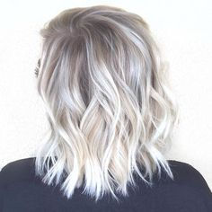 Image result for platinum blonde and gray lowlights