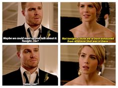 I think she would've said yes if they hadn't gotten interrupted. Arrow 4x16