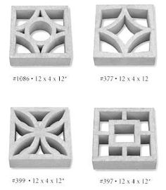 15+ companies that sell decorative concrete screen blocks – comprehensive list