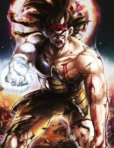 This is an awesome pic of Bardock