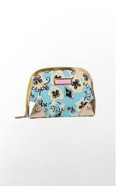 Lilly Pulitzer - Kappa Alpha Theta makeup bag