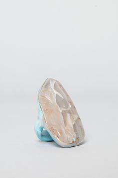 ee2fa27b803401 Adina Mills Apophyllite Ring (Blue/Gold/White) Ring Ding Dong, Modern