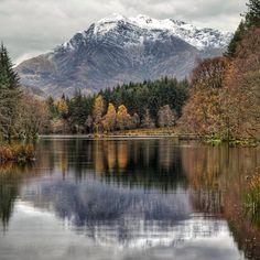 Glencoe Lochan in the Highlands of Scotland