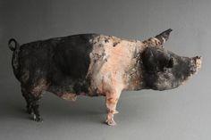 Ostinelli and Priest - Portfolio/Gallery - Ceramic Animal Sculptures Sculptures Céramiques, Sculpture Art, Pottery Sculpture, Ceramic Studio, Ceramic Art, Plastic Art, Fire Art, Ceramic Animals, Clay Art