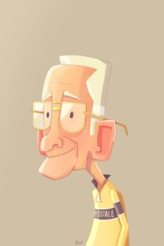 Grandpa by 8Hours.deviantart.com on @deviantART
