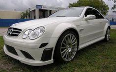 custom white mercedes benz clk63 amg - tobacco or coffee interior, please