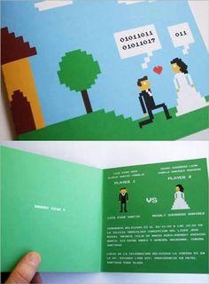 A Programmer's Wedding Invitation Card!
