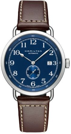 @hamiltonwfan Khaki Navy Pioneer Auto #bezel-fixed #bracelet-strap-leather #brand-hamilton #case-material-steel #case-width-40mm #date-yes #delivery-timescale-7-10-days #dial-colour-blue #gender-mens #luxury #movement-automatic #official-stockist-for-hamilton-watches #packaging-hamilton-watch-packaging #subcat-khaki-navy #supplier-model-no-h78455543 #warranty-hamilton-official-2-year-guarantee #water-resistant-100m
