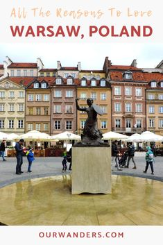 Warsaw, the capital city of Poland was the highlight of our trip to Poland! Warsaw Poland, Weekend Breaks, Photo Essay, City Break, Travel Guides, Travel Inspiration, Travel Photography, Places To Visit, Around The Worlds