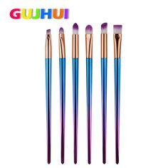 6PCS Makeup Brushes Set Foundation Eyebrow Eyeliner Blush Cosmetic Concealer Brushes FEB9 #Affiliate