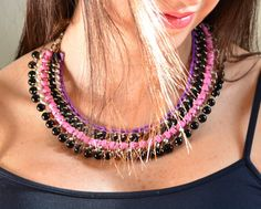 NEW/ colors/ The Bez maxi collar by Bezaccessories on Etsy