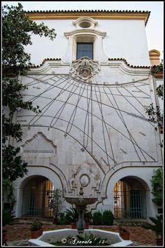 Reloj solar Palacio de la Merced Córdoba  Spain