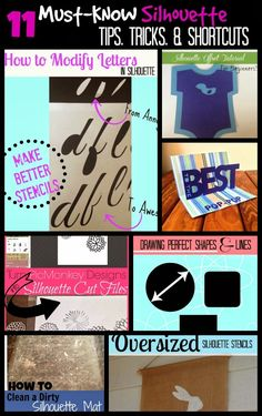 11 Must-Know Silhouette Tips, Tricks, Shortcuts & Work Arounds {March Month in Review}