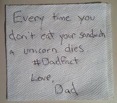 The Life of Dad: Passive Aggressive Lunchbox Notes (For Moms & Dads)