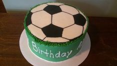soccer+ball+cakes+for+10+year+old+|+Soccer+Ball+birthday+Cake