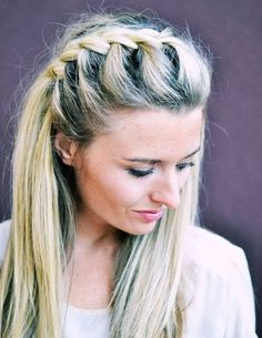 20 Trendy Half Braided Hairstyles Cute And Effortless Half Braided Hairstyles  A half updo with braids is a beautiful way to begin your morning. You can easily style it yourself. Experiment with different kinds of braids and enjoy the