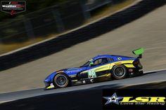 Lone Star Racing N°80 Dodge Viper GT3-R in IMSA WeatherTech Sports Car Championship at Mazda Raceway Laguna Seca CA