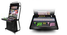Borne Arcade TAITO VEWLIX L HD JAMMA - www.geekcadeau.com