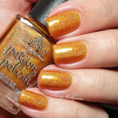 Potion Polish Marvelous Maple - Fall for Me Collection swatches | Sassy Shelly