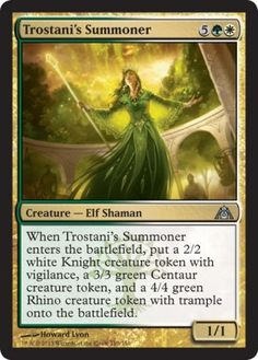Trostani's Summoner - Dragon\'s Maze - Standard Legal Sets - Magic: The Gathering
