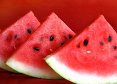 Watermelon - summer isn't a summer without fresh, juicy watermelon!! #spaweeksummer