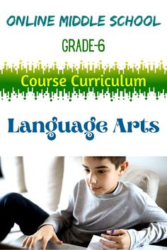Language Arts 1 explores several types of literature. Students will be expected to write essays, including a comparison-contrast essay #languagearts #middleschool #grade6 #onlinehighschool