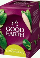 Good Earth Green tea - lemongrass