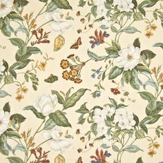 Huge savings on Kasmir products. Free shipping! Over 100,000 luxury patterns and colors. Only 1st Quality. Item KM-VICKSBURG-FLORAL-PARCHMENT. $5 swatches available.