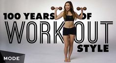"""Mode Studio's latest video, """"100 Years of Workout Style,"""" is a reminder that options of the past weren't always quite so varied. 