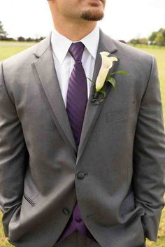 Gray Tuxedo For Wedding