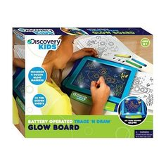Discovery Kids Trace 'n Draw Glow Board by Discovery Kids. $34.99. Your child will have hours of fun while learning to draw with the Trace n Draw Glow Board