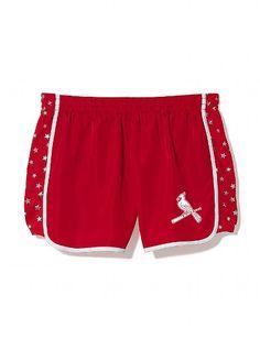 Victoria's Secret Pink St. Louis Cardinals Campus Shorts $34.50