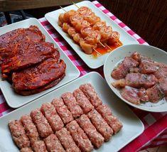 Variációk grillpartihoz Gm&Lm – GastroHobbi Waffles, Sausage, Steak, Bacon, Bbq, Cooking Recipes, Breakfast, Food, Burgers
