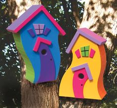 Whimsical GARDENS | whimsical birdhouses by winfield photo 6_whimsicalbirdhousesbyWinfield ...