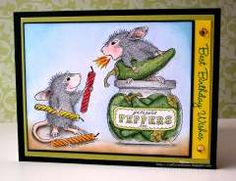 """""""Happy Birthday!"""" by Maria Lovello on House-Mouse Designs"""