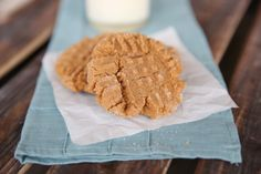 Flourless PB Cookies from Our Best Bites