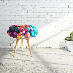 Silk Stool By Meb Rure Design Studio
