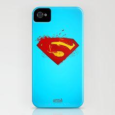 Superman Grafitti Style iPhone Case by Universo do Sofa - Artes & Etecetera | Society6