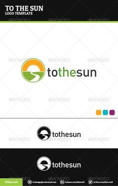 To The Sun Logo Template