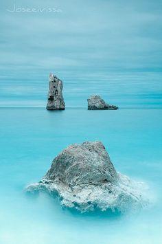 Blue curaçao I Balearic Islands, Spain